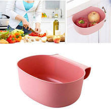 2017EnvironmentalNew Cute Home Kitchen Cabinet Trash Storage Box Organizers Garbage Holder Portable Hanging Storage Box(China)