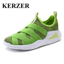 KERZERWoman Running Shoes Woman Sport Shoes 2017 New Arrival Walking Jogging Sheos Comfortable Green Red Womens Runners Tainers