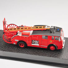 Free Shipping 1/72 Alloy Diecast Model Car Model New Dennis F 12 Vehicles Fire Truck Toys Model Kids   Gifts Collections