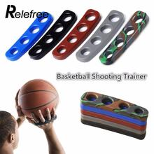 Relefree 1Pcs 4Colors Shot Lock Basketball Ball Shooting Trainer Team Sport Finger Cover Orthotic Three-Point For Kids Adult(China)