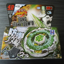 1 Pcs Beyblade Metal Fusion 4D Set FANG LEONE 130WD BB106 Kids Game Toys Children Christmas Gift Lct_024