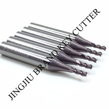 2.0mm carbide end milling cutter for Miracle  A5/A7/A9/SEC-E9 key cutting machines(5pieces/lot)