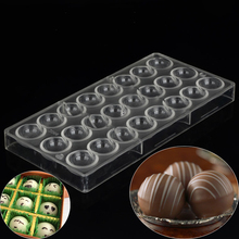 Chocolate Plastic Oven Semi Sphere Chocolate Mould PC Polycarbonate Baking  Bakeware Rectangle Cooking Tools
