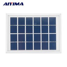 Solar Panels 6V 2W Photovoltaic Panels Solar Emergency Battery Energy Plate 180x130MM Solars Power Bank