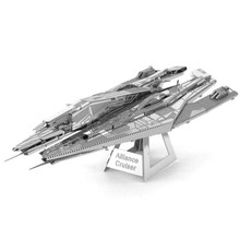 Alliance Cruiser Metal 3D Puzzle For Boy DIY Assembly Star Wars Model Kids Toys Quebra Cabeca IQ Jigsaw Puzzles For Boy/Adult