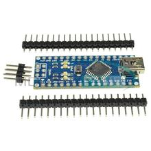 2PCS Nano 3.0 Controller Compatible For arduino Nano CH340 USB Driver Nano V3.0 ATmega328 Board NO CABLE