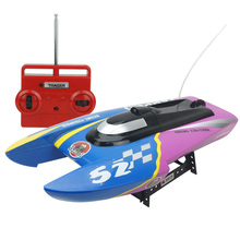 Top Quality RC High Speed Boat RC Boat 4CH High Powered Boat 7.2V Plastic Model Large RC Toys Boat for Children 3352