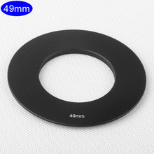 Camera Lens Adapter Ring 49mm Metal Thread Mount for Cokin P Series Gradient Square Filter Holder Mount