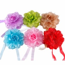 1Pc New Flowers Curtain Clip Curtain Tieback Living Room Bedroom Home Curtain Holder Tie Backs Drape Decoration#229429