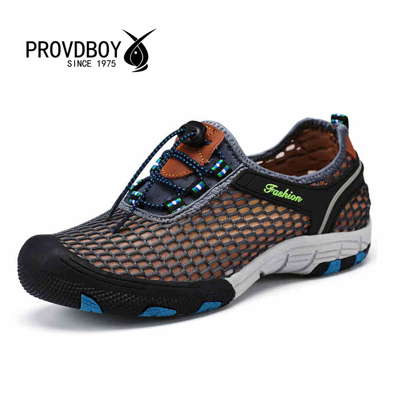 2017 New Men aqua water wading shoes for mens sports trekking hiking breathable fishing sneakers beach outdoor quick dry shoe<br><br>Aliexpress