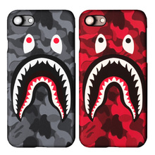 For iPhone 6S Case Luminous Hard PC Shark Army Phone Cover For iPhone 6 6s plus 7 Plus Case Coque For iphone 6s Accessiores Capa(Hong Kong)