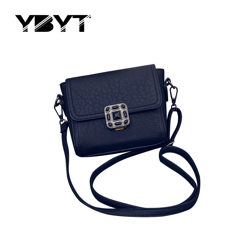 YBYT brand 2017 new small high quality lock flap hotsale ladies evening party handbags women shopping shoulder crossbody bags<br><br>Aliexpress