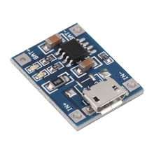 1pcs 5V Mini MICRO USB 1A TP4056 Lithium Battery Module Li ion Batteries Charging Charger Board Module Wholesale(China)