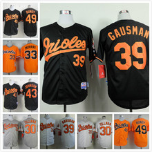 30 Chris Tillman 33 Eddie Murray 39 Kevin Gausman 43 Jim Johnson 49 Dylan Bundy throwback Jerseys