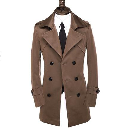 Compare Prices on Brown Mens Long Trench Coat- Online Shopping/Buy ...