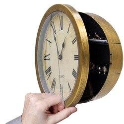 Креативные настенные часы-коробка для хранения денег и ювелирных изделий