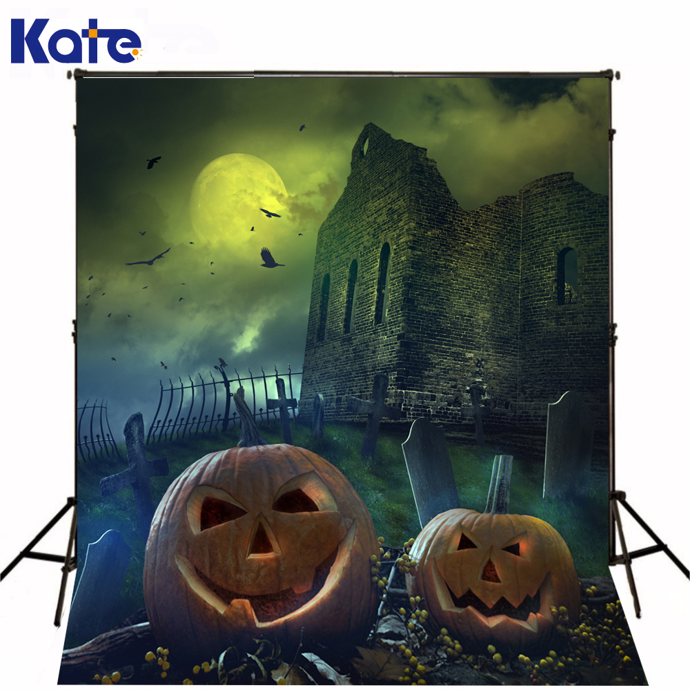KATE background photo for studio festival of happy halloween pumpkins devil ghost castle photography backdrops<br><br>Aliexpress