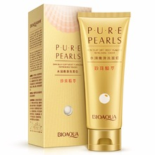 New Moisturizing Deep Cleaning Face Washing Pure Pearls Whitening Facial Cleaner Cream Anti-aging Skin Care