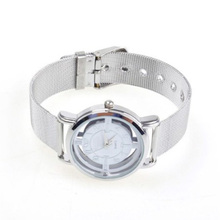 YCYC!5*New Practical Water Resistant Steel Rotary Dial Quartz Wrist Watch for Women