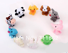 400pcs hot Cartoon Animal Finger Puppet,Finger toy,finger doll,baby dolls,Baby Toys