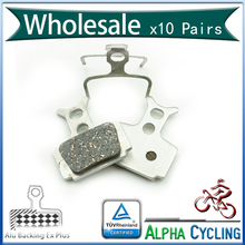 Bicycle Disc Brake Pads For FORMULARR1, R1R, R1, RO, RX, T1, Mega Disc Brake, 10 Pairs, Alu-Alloy Back, Ex Plus, Free Postage