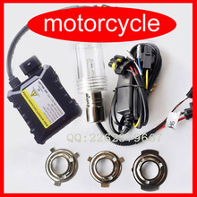 hid Motor/Motorcycle kit for Bike Hid Kit H6 Hi Low Xenon Bulbs Headlamp 12V 35W 55W 4300K/6000K/8000K free shipping