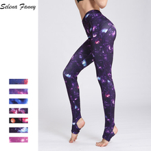 Buy Star Sky Women Yoga Pants High Elastic Fitness Sport Leggings Tights Slim Running Jogging Pants Quick Dry Training Trousers S-XL for $14.39 in AliExpress store