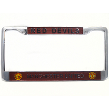 2017 hot zinc alloy car license plate frame for American plate club logo for Manchester Automobile general license plate frame(China)