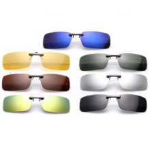 Men's Women's Polarized Day Night Vision Clip On Lens Glasses Sunglasses Fashion