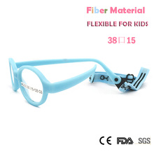 ZBZ Colorful Child Eyeglasses Frame Boys Girls FLEXIBLE UNBREAKABLE Glass with Cord Plain Lens Oval Shape Eyewear 1-3Years(China)