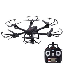 MJX X601H RC Helicopter WiFi FPV 720P CAM Air Pressure Altitude Hold 2.4GHz 4 Channel 6 Axis Gyro Hexacopter 3D Rollover Drones(China)