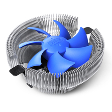 2017 PCCOOLER 90mm 3pin Silent Cooling CPU Fan Heatsink Cooler Compatible for Intel LGA775/1155 /1156/LGA1150