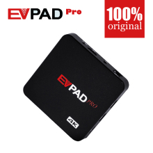 Official Authorization EVPAD PRO IPTV China HK Korean Japan MalayTaiwan US Canada Eu Android TV box/Set top Box Bluetooth
