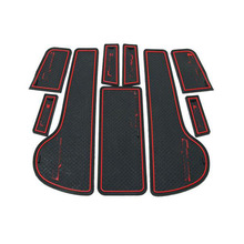 2009-2014 Car Sticker Interior Accessories Door Rubber Non-slip Cup Floor Mats Gate Slot Pad Stickers for Chevrolet Cruze Deco