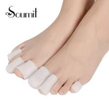 Soumit Tube Cushion Corns and Calluses Hallux Valgus Orthopedics Toes Finger Protector Pain Relief Guard for Feet Care insoles(China)