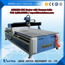 Vacuum table atc cnc router 1325 HSD 9KW /cnc router for wooden door