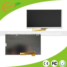 "% A+ 163x97mm  LCD Display Matrix For 7"" inch  Irbis TZ709 3G TABLET inner LCD Display 1024x600 Screen Panel Frame Random code"
