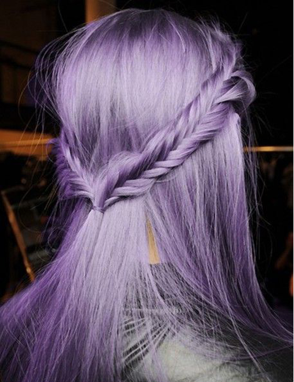 Halloween Fashion Long Purple Wig Straight Hair Heat Resistant Syntehtic Wigs for Cosplay Glueless Lace Front Wig Free Shipping<br><br>Aliexpress
