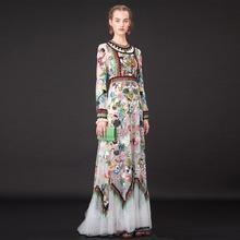 Buy Summer Dress 2016 Ukraine Women Maxi Dress HighPoint Embroidery Robe Longue Femme Boho Party Dresses Plus Size Women Clothing for $89.99 in AliExpress store