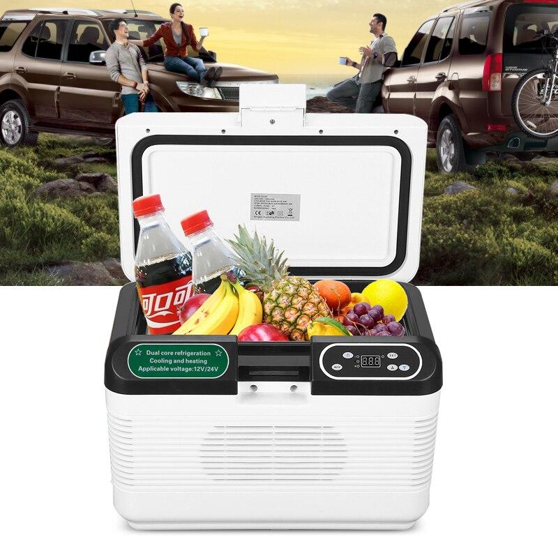 12V 7.5L Portable Cooling Warming Box Mini Travel Fridge Car Van Camping Office