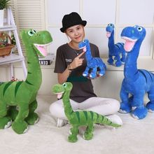 Dorimytrader 80cm X 110cm Hot Cartoon Anime The Good Dinosaur Large Plush Animal Dinosaur Toy 2 Colors Free Shipping DY61044