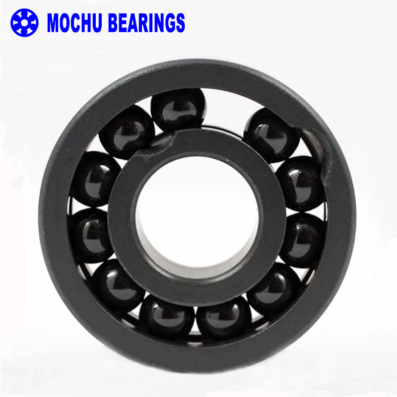 1PCS 608 8X22X7 Full Complement Ceramic Bearing 608CE Si3N4 Ball Bearings No Cage Si3N4 Ceramic Silicon Nitride<br>