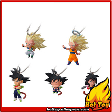 "100% Original BANDAI Ultimate Deformed Mascot / UDM BURST 09 Gashapon Toy Figure - Set of 5 PCS from ""Dragon Ball Z"""