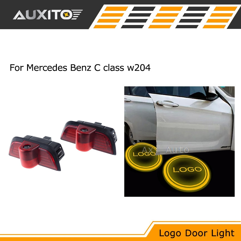 Laser LED Car Door courtesy Ghost Shadow Projector Logo Light For Mercedes w204 Benz C class 2007-2014<br><br>Aliexpress