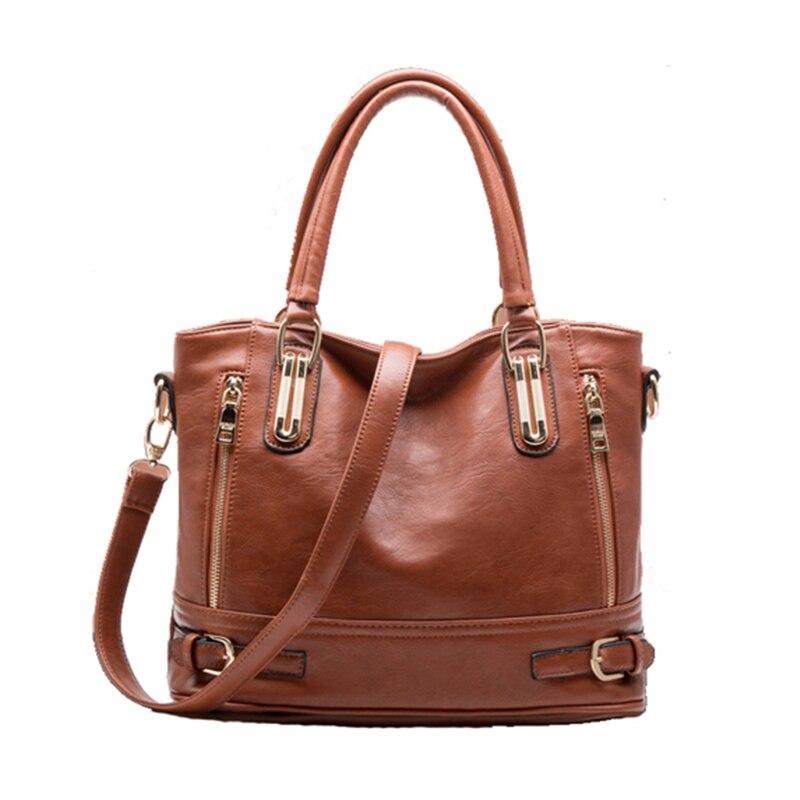 Hot sale 2017 Fashion Designer Brand Women Pu Leather Handbags ladies Shoulder bags tote Bag female Retro Vintage Messenger Bag<br><br>Aliexpress