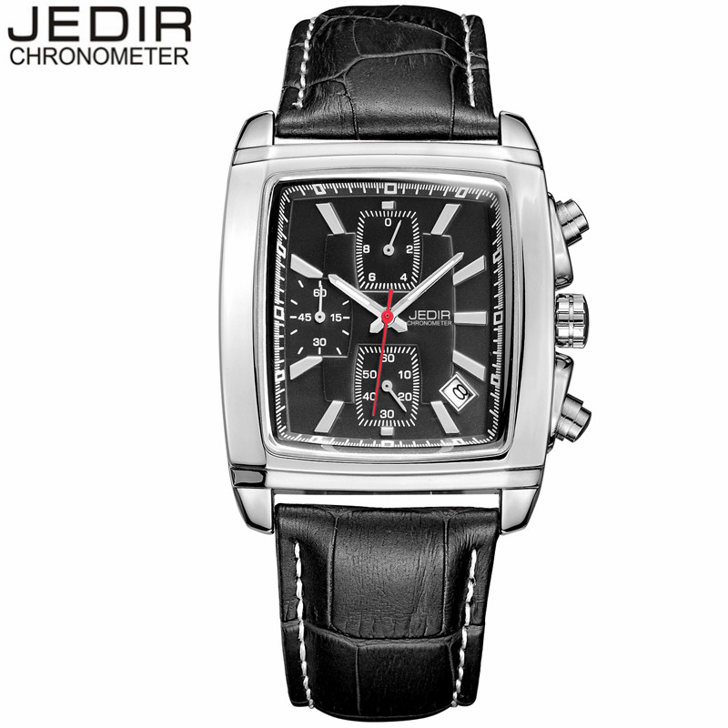 relogio masculino Mens Watches Top Brand Luxury JEDIR Men Military Sport Luminous Wristwatch Chronograph Leather Quartz Watch<br><br>Aliexpress