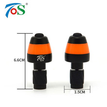 TOS 2pcs Bike Cornering Lamp Aluminum Alloy Bicycle Accessories LED Warning Safety Cycling Turn Light Bike Handlebar Plug Light(China)