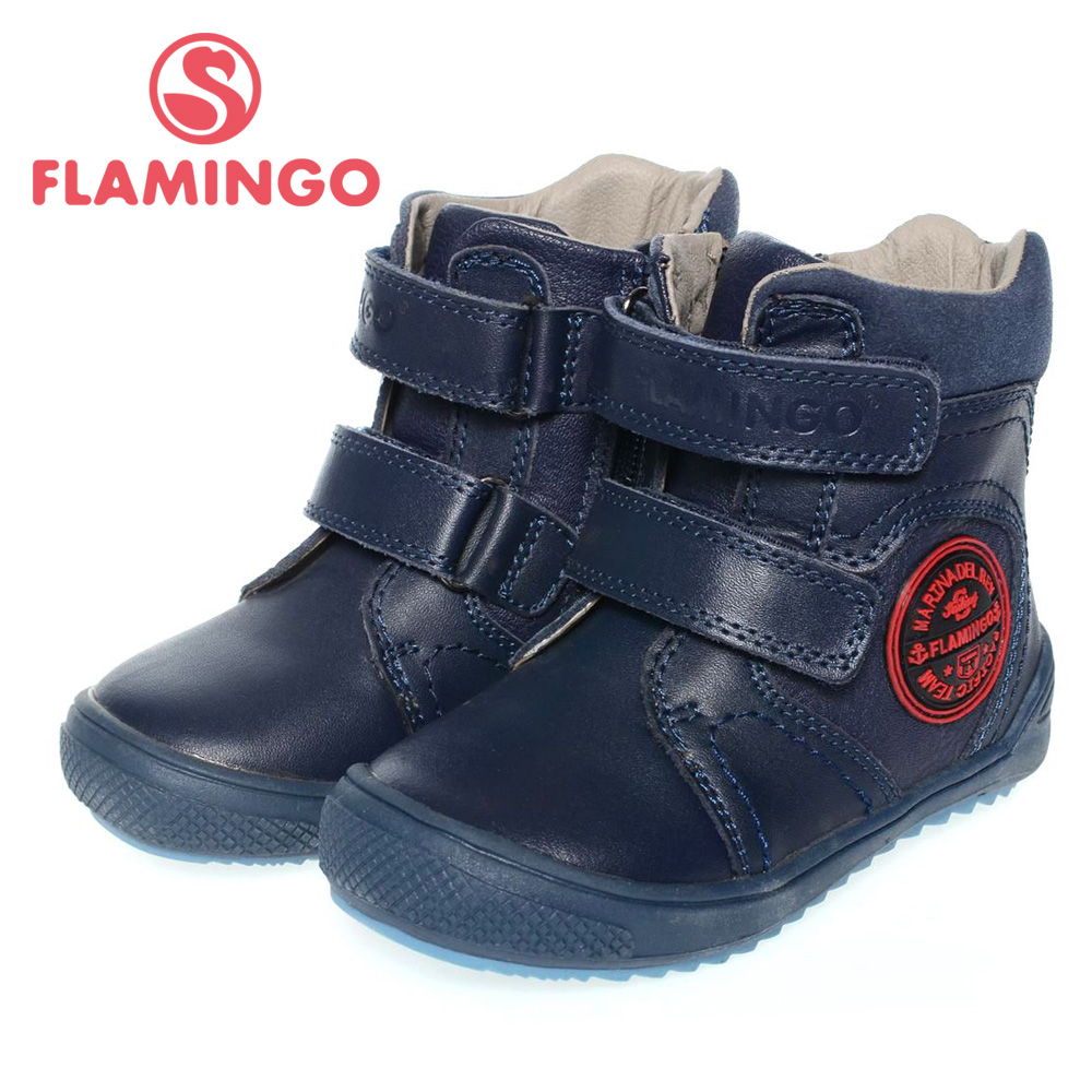 FLAMINGO high quality fashion spring/autumn leather childrens shoes for boy 2015 new collection anti-slip boots XB4862<br><br>Aliexpress