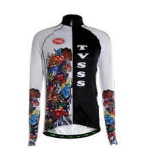 TVSSS Long Sleeve Cycling Jerseys Men's Exaggerated Pattern Combination Design Jerseys Clothing Mountain Bike Coat Clothes