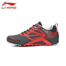 Li-Ning Men's Outdoor Portable Sport Running Shoes Li Ning Breathable Damping PU+Fabric Non-Slip Sports Sneakers AEEL003